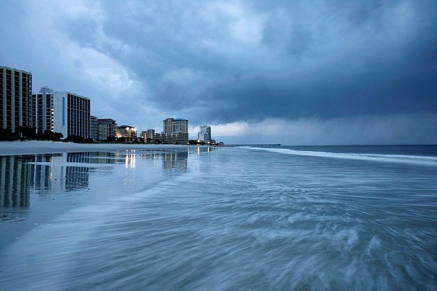 L'ouragan Florence déferle sur la côte est américaine