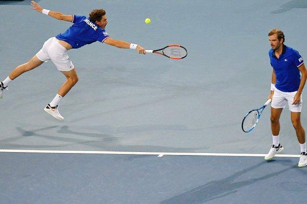 Coupe Davis: la balade des Bleus avec une nouvelle finale à l'arrivée