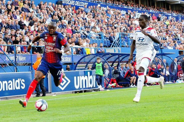 Football (Ligue 1) : Caen à deux minutes de renverser Lyon !