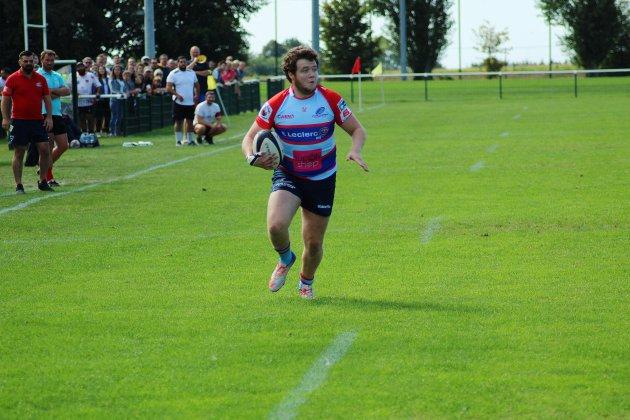 Rugby (Fed 3/Top 16).Les Caennais punis à l'extérieur