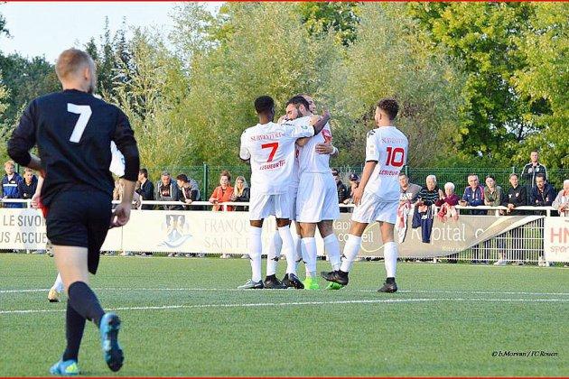 Football: le FC Rouen rentre bien dans sa Coupe de France