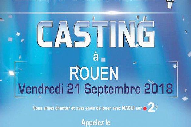 """Nouveau casting """"N'oubliez pas les paroles"""" à Rouen"""