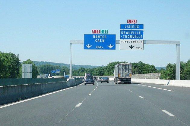 Près de Caen: fermeture nocturne de l'autoroute A13