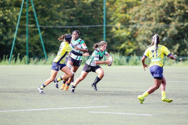 Rugby féminin: l'ASRUC Mont-Saint-Aignan chez les grandes