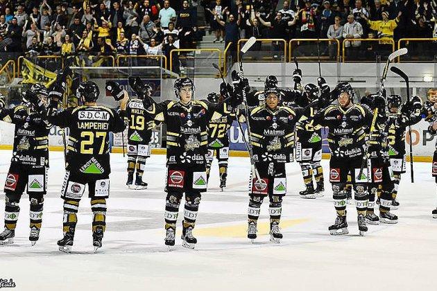 Hockey sur glace: premier derby pour les Dragons de Rouen