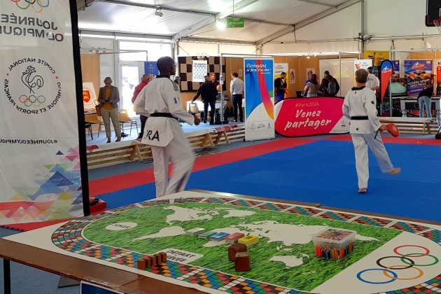 Le Village des Sports tout ce week-end à la Foire de Caen