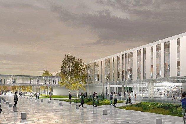 [Photos] Nouveau CHU de Caen: découvrez les plans et l'agenda des travaux