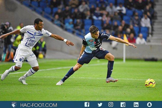 Football (Ligue 2, 8e journée): Le Havre freiné par Troyes