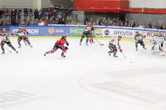 Hockey sur Glace (D1) : Première ratée pour Caen contre Cergy
