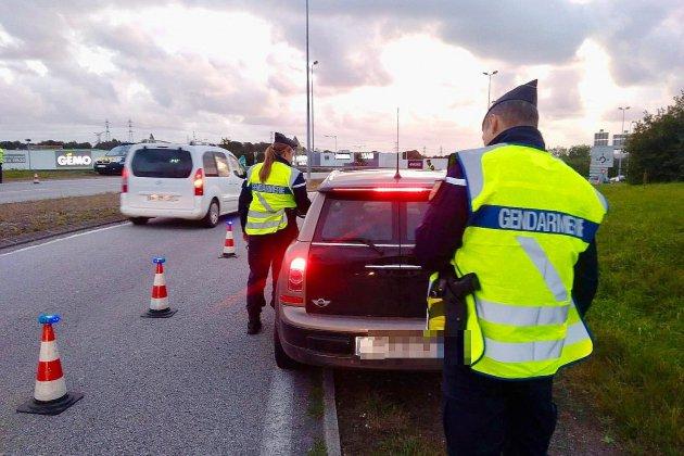 Lutte contre l'insécurité routière dans la Manche : 168 automobilistes sanctionnés