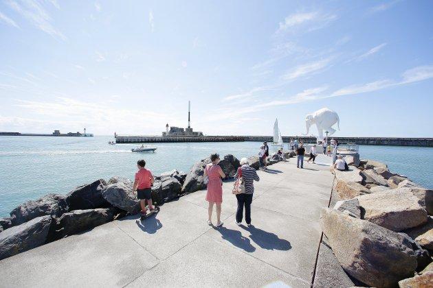 L'œuvre À l'origine va rester deux semaines de plus au Havre