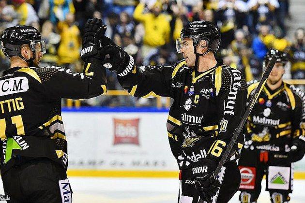 Hockey: premier tournant de la saison pour Rouen face à Nice