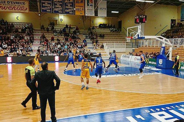 Basket: en Leaders Cup, l'ALM Évreux s'impose face à Caen