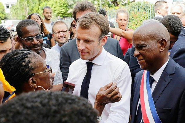 Chlordécone: Macron en Martinique veut que l'État prenne ses responsabilités