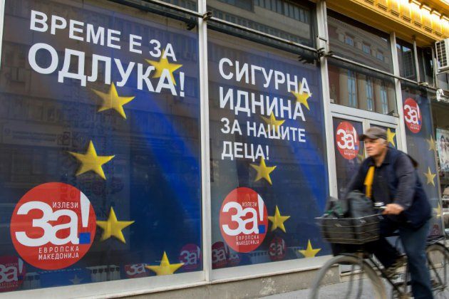 """Référendum sur le nom: la Macédoine face à """"une décision historique"""""""