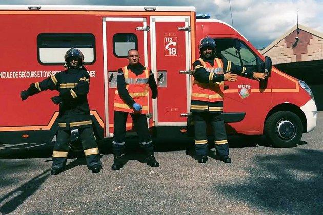 Floss Challenge: les pompiers de l'Eure dansent en vidéo et font le buzz