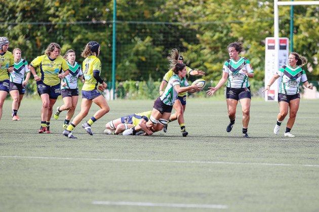 Rugby (Top 16 féminin): l'Asruc n'y arrive toujours pas