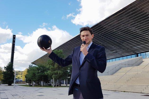 Valentin Longuemare, la nouvelle voix du Rouen Métropole Basket