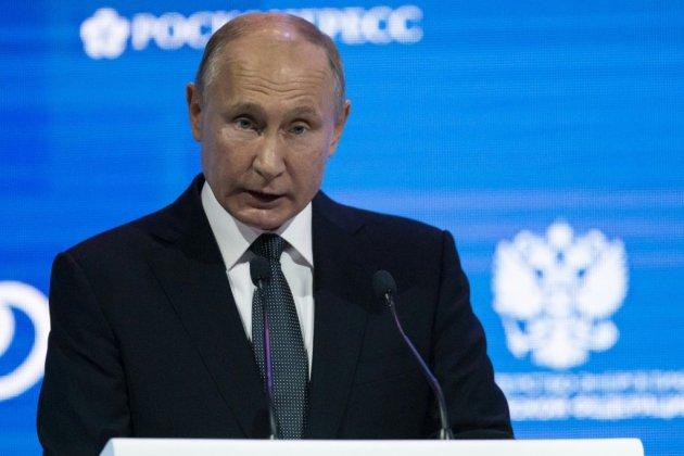 """Skripal est un """"salaud"""" et """"un traître à la patrie"""", affirme Poutine"""