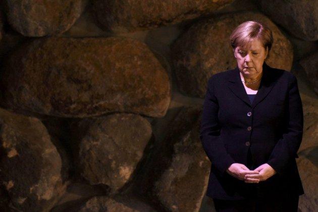 """Merkel évoque à Jérusalem une """"responsabilité perpétuelle"""" face à l'antisémitisme"""