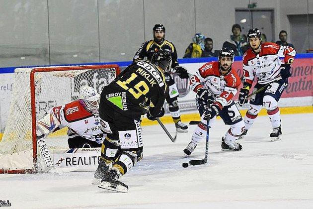 Hockey sur glace: contre Anglet, les Dragons débutent une semaine intense