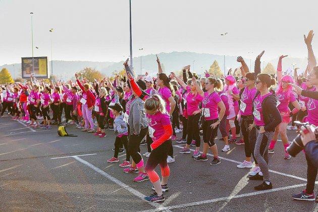 À Tourville, une course contre le cancer du sein avec la Rivière rose