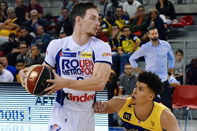 Basket (Leaders Cup) : Rouen se qualifie en battant Evreux
