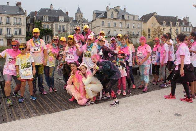 Course loisirs : Belle affluence à la Colore Caen malgré la pluie !