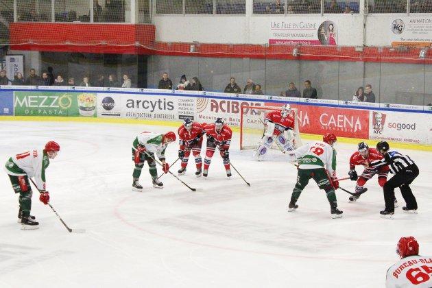 Hockey sur Glace : Caen éjecté de la Coupe par Cergy