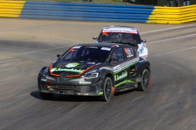 Rallycross :Philippe Maloigne (SuperCars) et Yvonnick Jagu (Super 1600)s'imposent à Lessay
