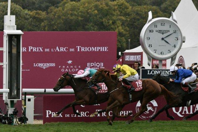 Deux succès dans l'Arc pour Enable, six pour son jockey Lanfranco Dettori