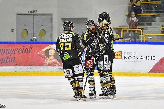 Hockey: les Dragons enchaînent les prolongations et continuent de gagner
