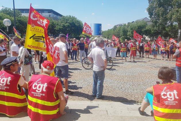 Grèves, cortèges... les infos sur la mobilisation en Seine-Maritime