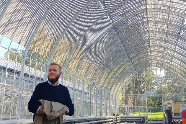 La rénovation des serres du jardin des plantes de Rouen se termine