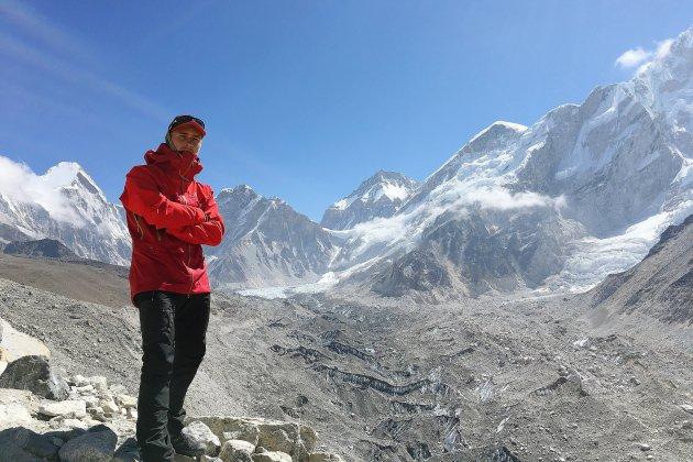 Un pompier de la Manche à l'assaut de l'Everest