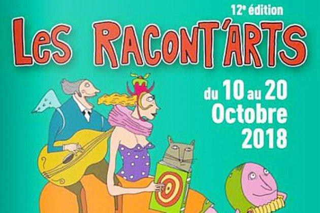 12ème édition des Racont'arts du 10 au 20 octobre dans l'Orne