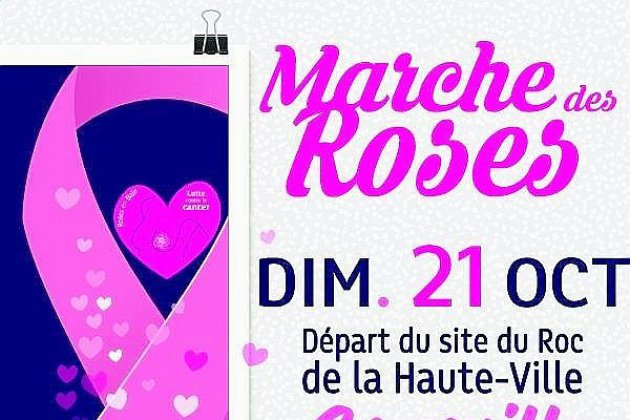 La Marche des Roses traversera Granville le 21 octobre