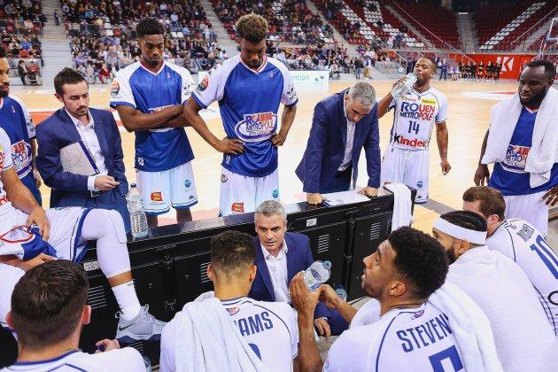 Basket: le Rouen Métropole Basket débute sa saison de Pro B!