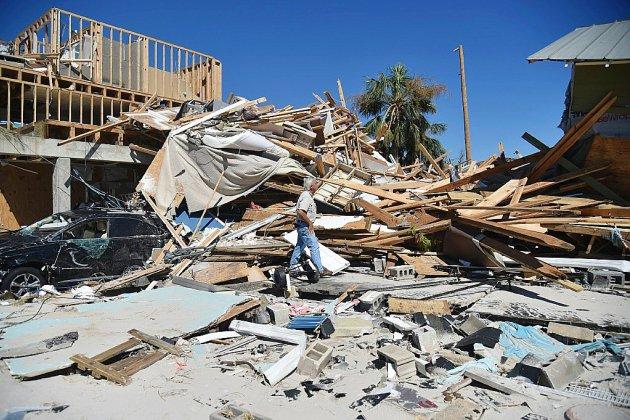 Le bilan humain s'alourdit après le passage de l'ouragan Michael