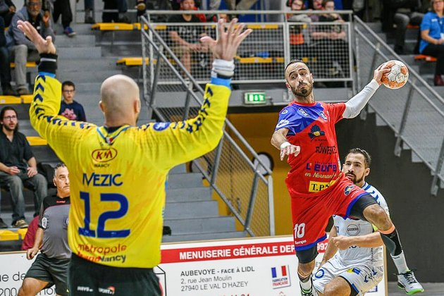 Handball (Proligue) : Vernon battu par Nancy à Grévarin