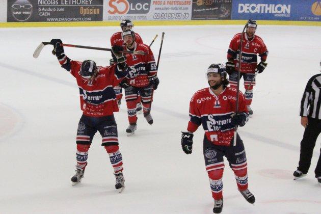 Hockey sur Glace (D1) : Caen se relance en écrasant Marseille