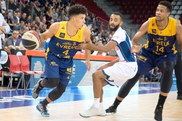 Basket (Pro B): difficile entrée en matière pour l'ALM Evreux