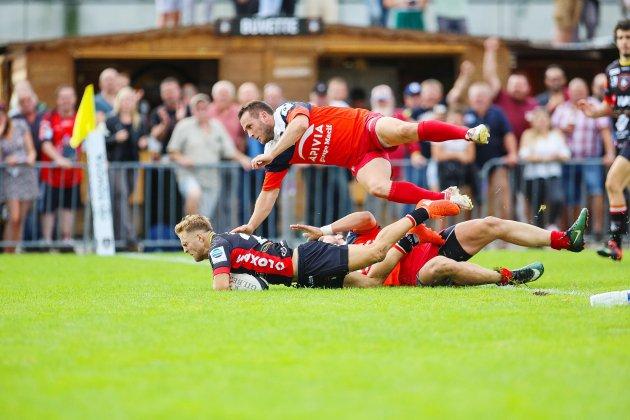 Rugby: les Rouennais poursuivent leur sans-faute