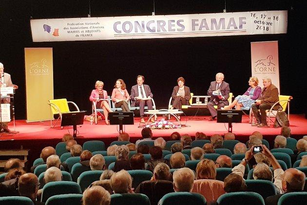 Les anciens maires de France en congrès national à Bagnoles-de-l'Orne