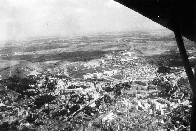 Un Caen rural dans des clichés publiés par l'aéroclub régional de Caen