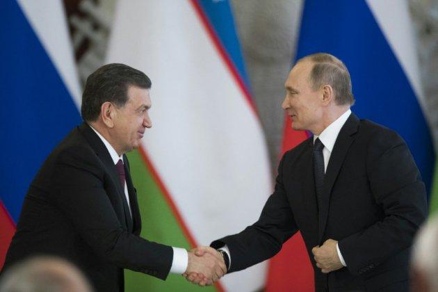 Poutine en Ouzbékistan pour sceller un rapprochement russo-ouzbek