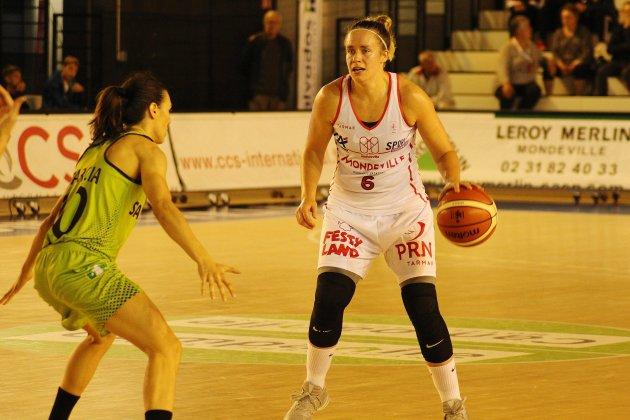 Basket (LFB): Mondeville s'incline lourdement devant le Hainaut