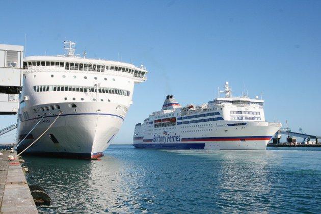 """Malgré le Brexit, un été """"encourageant"""" pour Brittany Ferries"""