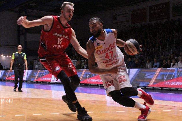 Basket (Pro B) : Caen ramené à la réalité par Nancy