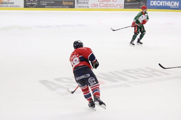 Hockey sur Glace (D1) : Caen gagne mais se complique la tâche